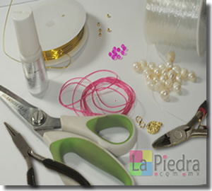 Pulseras de Perlas materiales