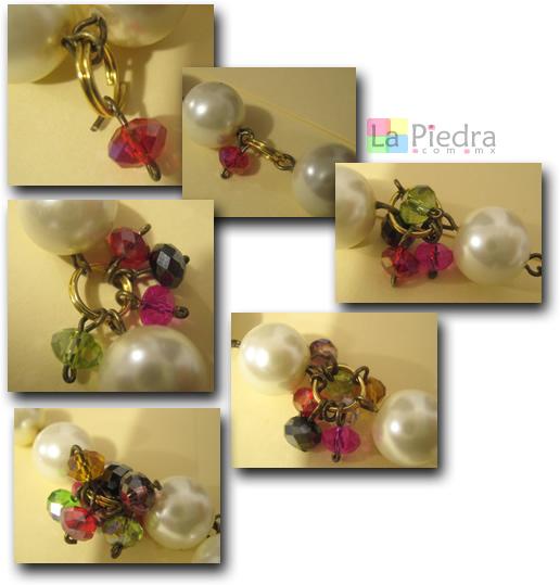 Pulseras con Perlas paso 7