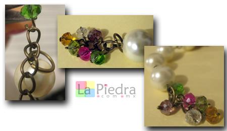Pulseras con Perlas paso 8