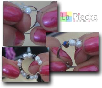 anillos con alambre memoria paso 3