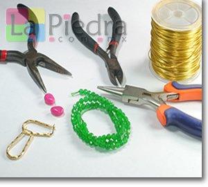 Aretes de oro laminado materiales