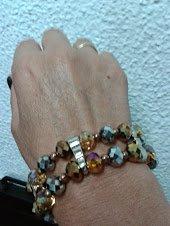 pulsera elastica piedras murano2